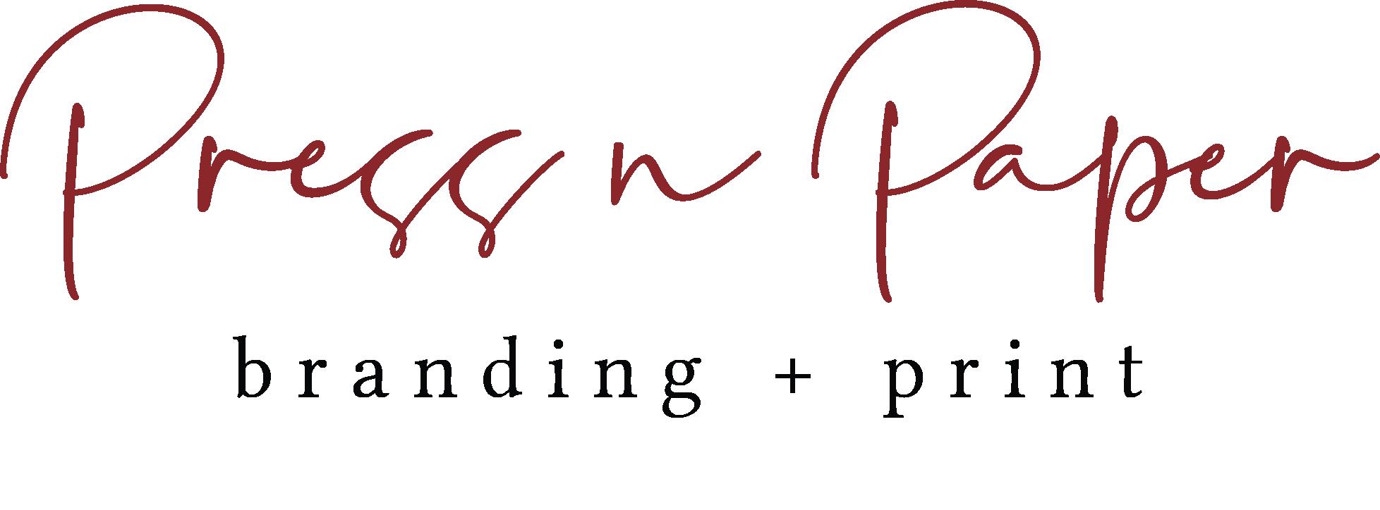 PRess n paper color logo